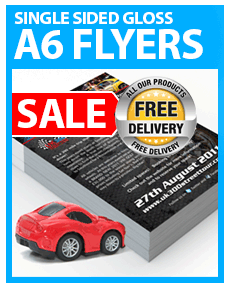 A6 Flyers from £7