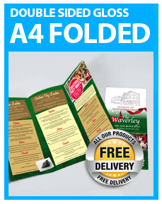 A4 Folded Leaflets from £16