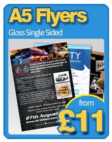 A5 Flyers from £11