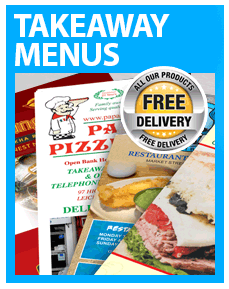 Takeaway menus from £16